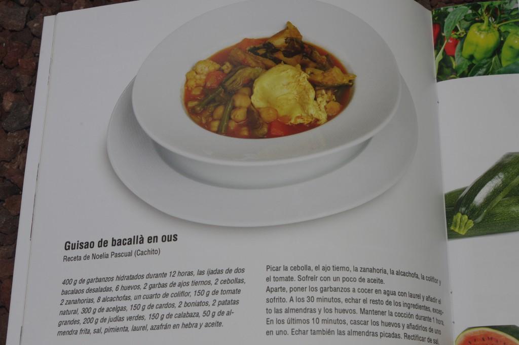 Receta Bacallâ en ous Restaurante Cachito