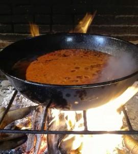 tomate a la leña restaurante caachito